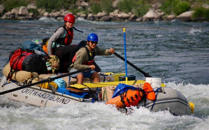 gap year rafting adventure