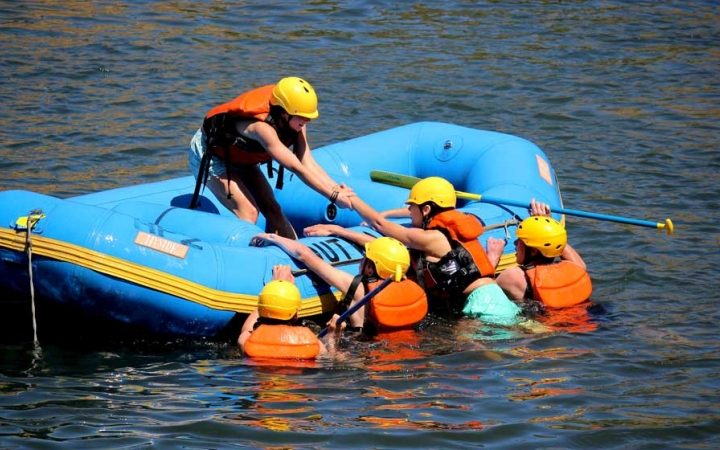 rafting expedition for teens