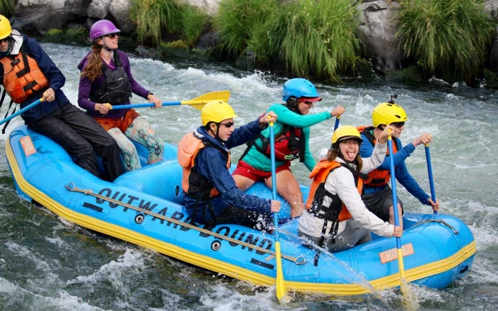 rafting course for teens