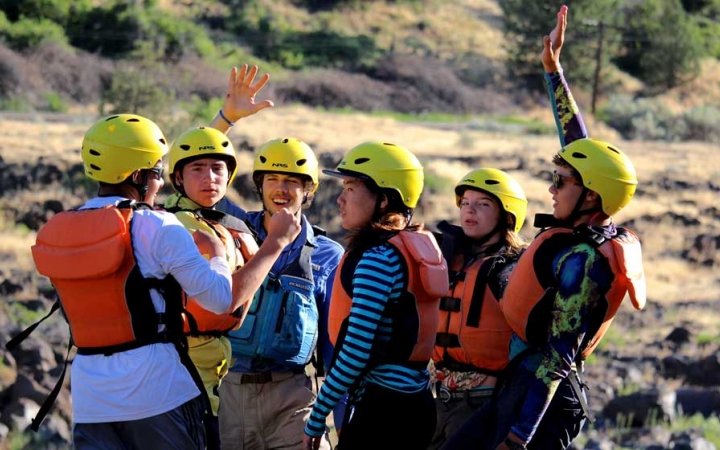 rafting program for teens