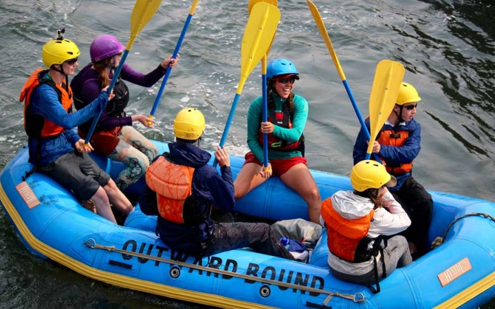 rafting trip for teens