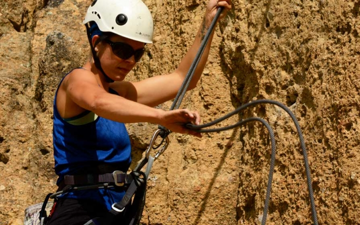 rock climbing trip for adults in oregon