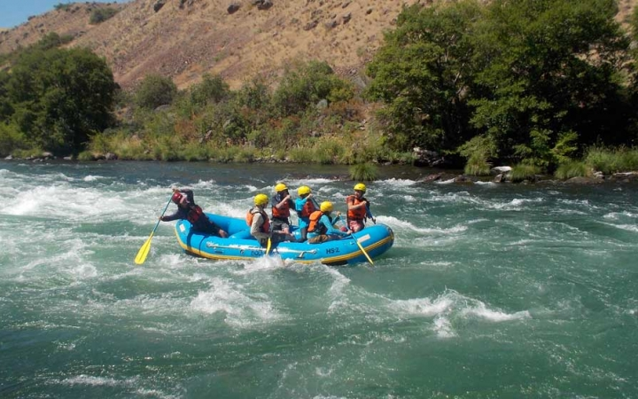 rafting school for teens in pacific northwest