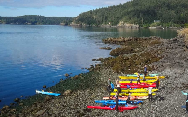 sea kayaking expedition for teens