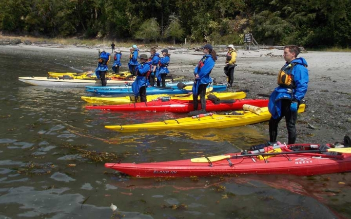sea kayaking adventure for teens