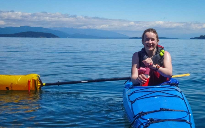 sea kayaking trip for teens