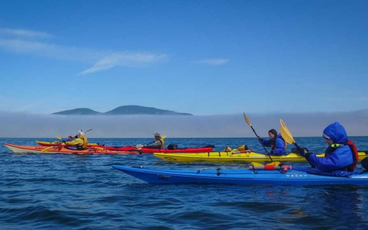 sea kayaking training for teens