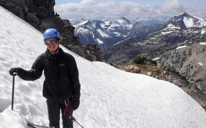 mountaineering adventure for teens