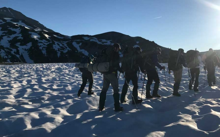 mountaineering adventure trip for teens in oregon