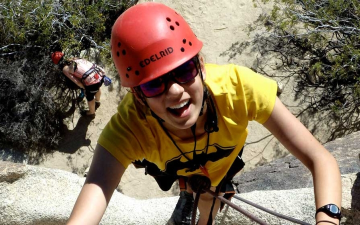 joshua tree rock climbing for teens