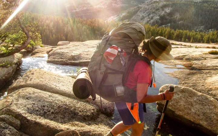 backpacking trip for teen girls in yosemite national park