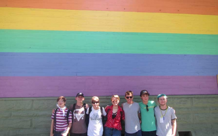 outdoor summer program for lgbtq+ teens