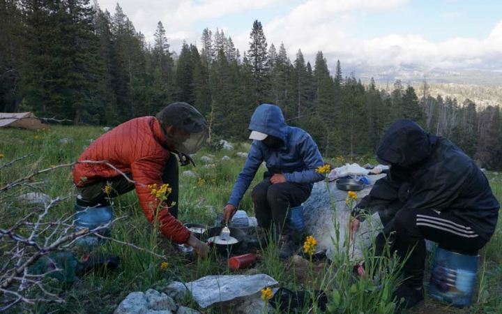 service learning on outdoor leadership course in yosemite national park