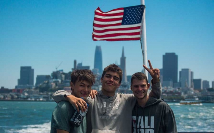 service learning trip for teens in san francisco