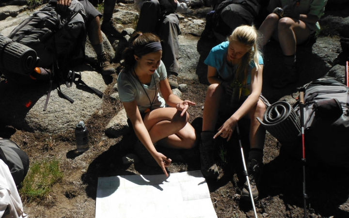 backpacking summer program for teens in yosemite
