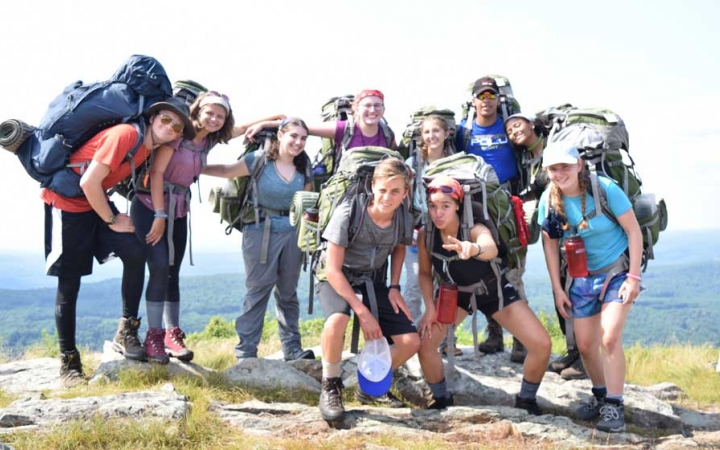 backpacking courses