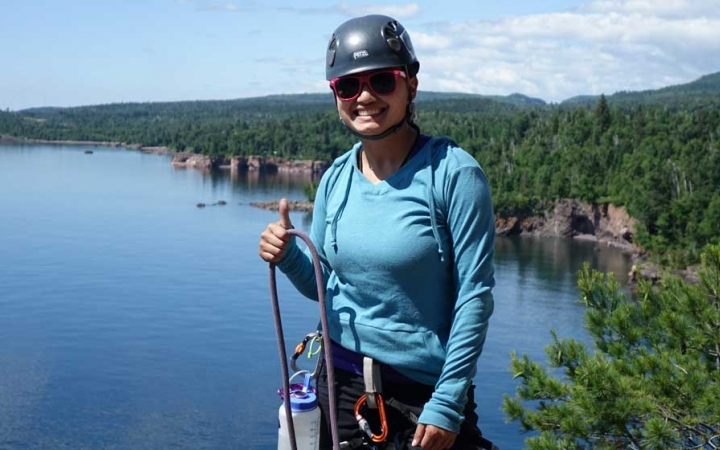 rock climbing trip for high schoolers in minnesota