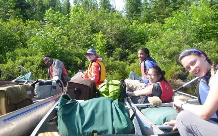 boundary waters canoeing
