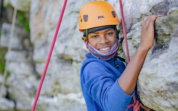 Rock climbing adventures for teens in baltimore