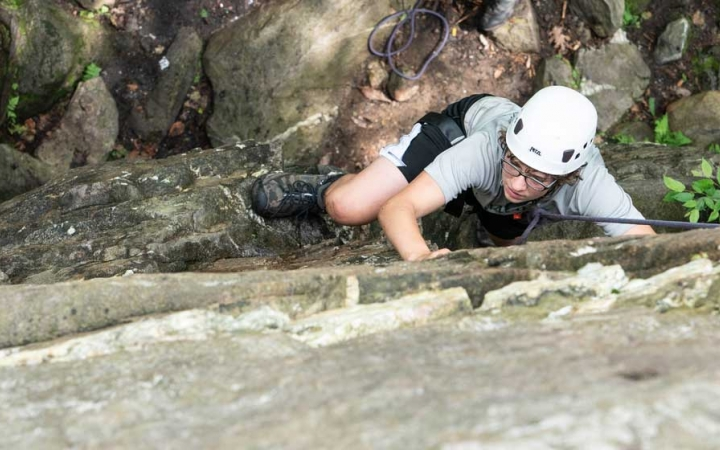 rock climbing chesapeake bay for teens