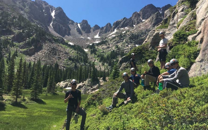 colorado backpacking course for teens