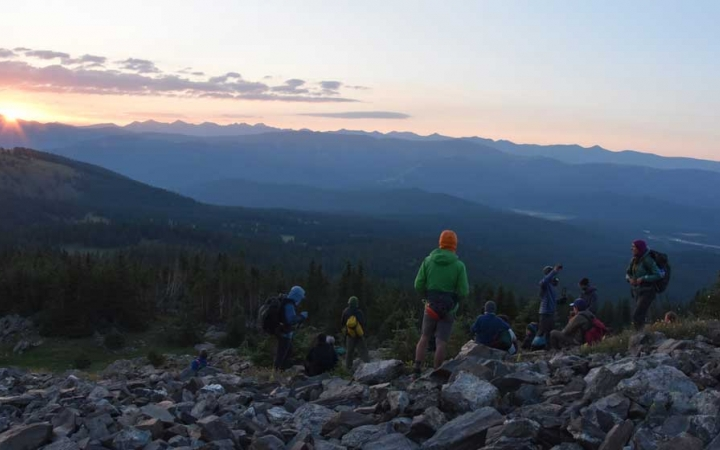 outdoor educator expedition for young adults