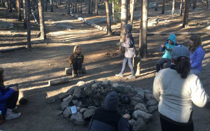 backpacking trip for elementary school students