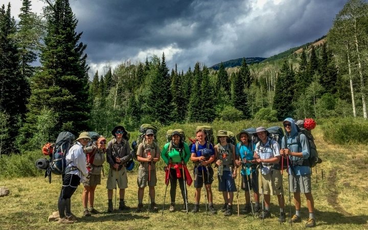 gap year outdoor adventure trip in utah