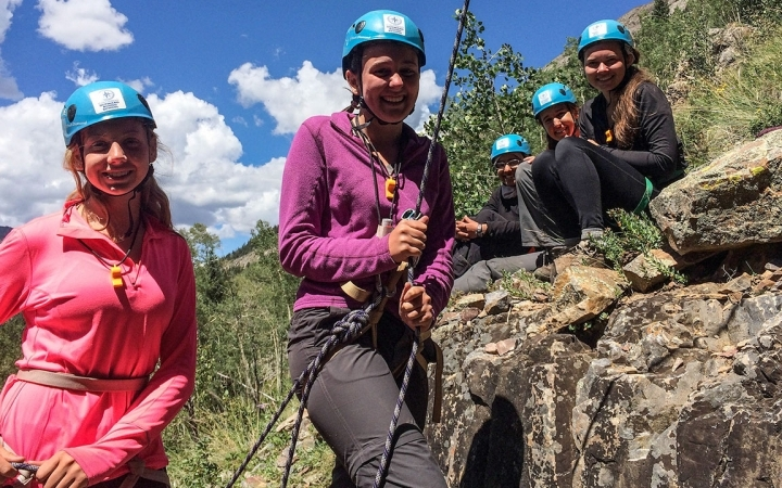 rock climbing gap year leadership program in colorado