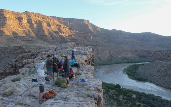 gap year rafting expedition in the southwest