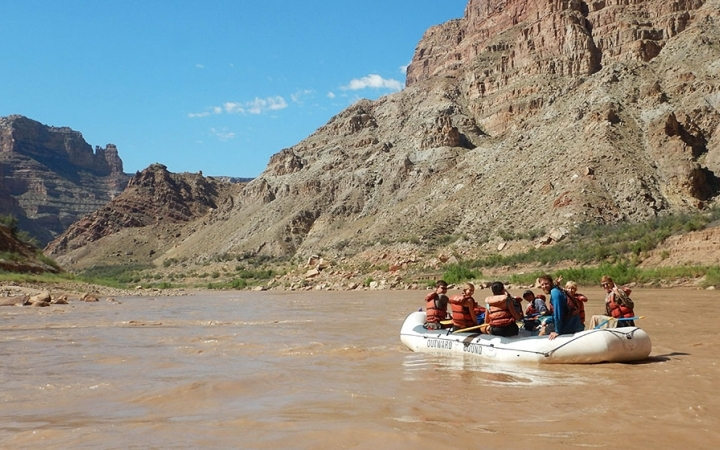 gap year outdoor leadership program in the southwest