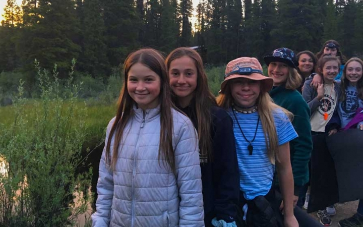 backpacking program for girls in the colorado rockies