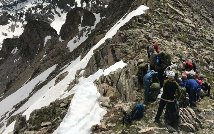 backpacking camp for teens in colorado
