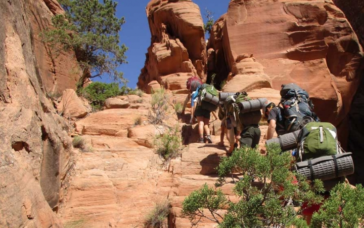 southwest backpacking program for adults