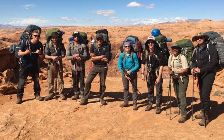 backpacking program for young adults in the southwest