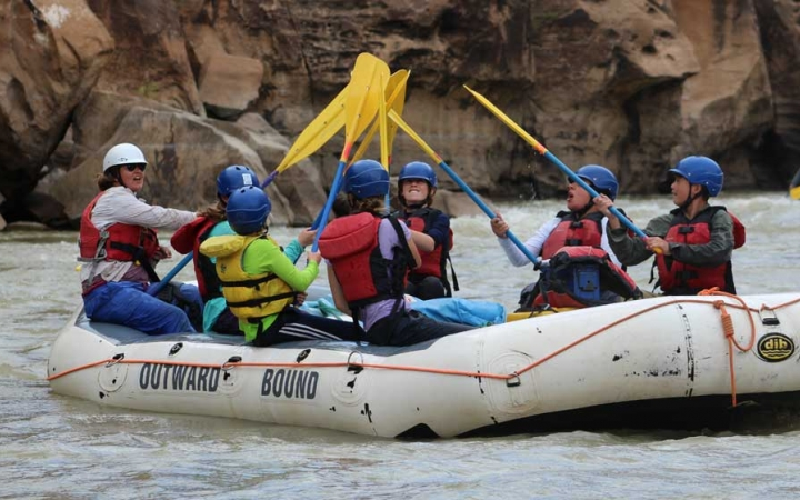 rafting adventure trip in the southwest for teens