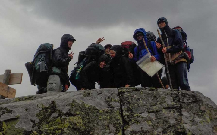 teens gain confidence on summit