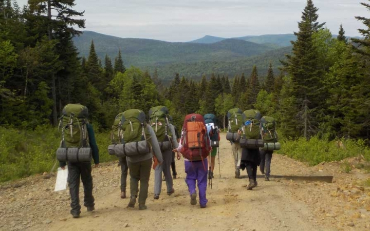 backpacking expedition for grieving teens