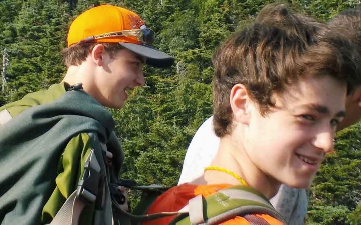 grieving teens expedition with outward bound