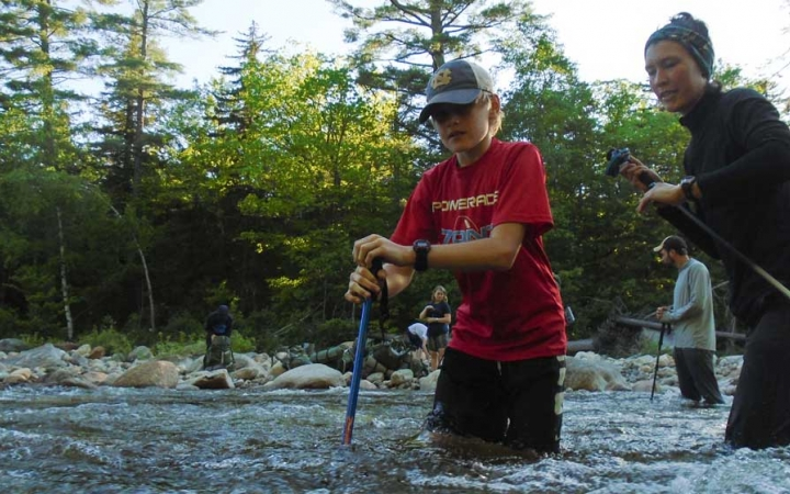 teens learn character skills on outdoor course