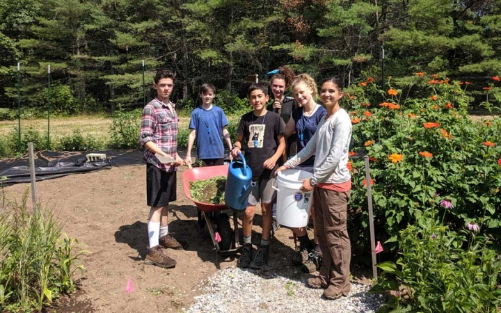 service learning for teens in maine