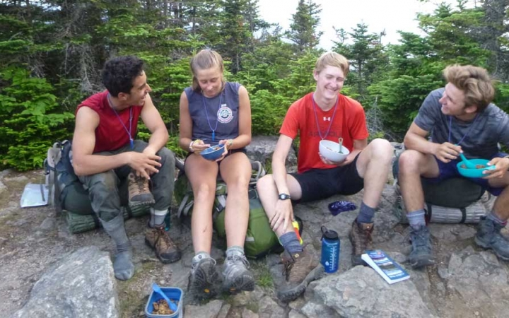 teens reflect on backpacking expedition