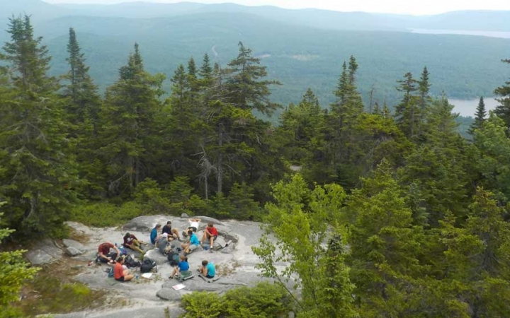 wilderness program in maine