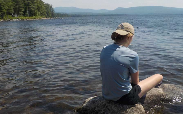 high schooler reflects on canoeing course