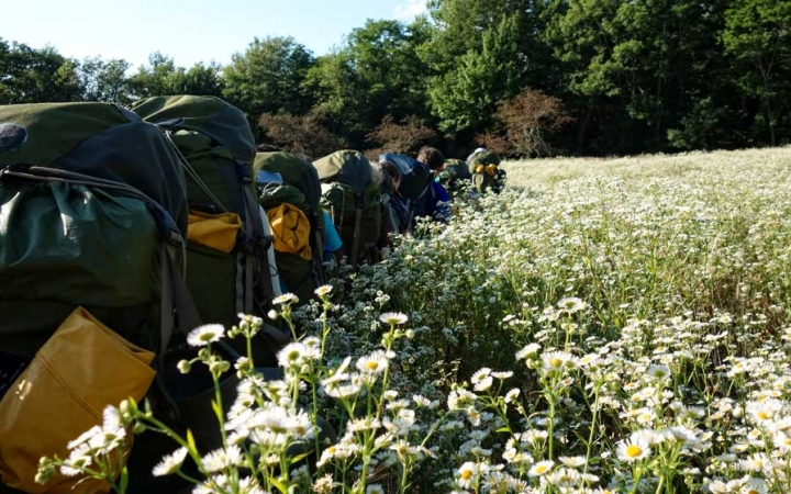 backpacking class for teens