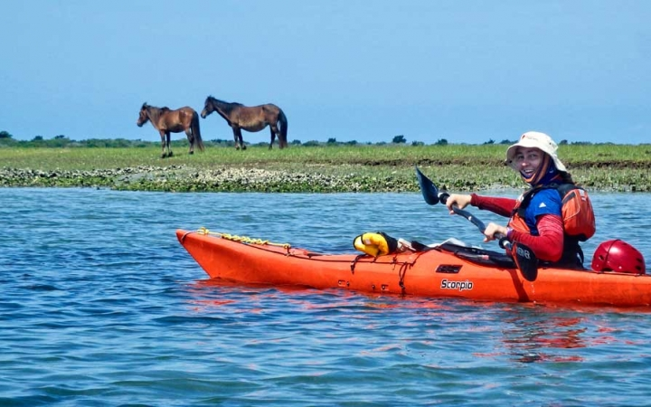 sea kayaking for adults