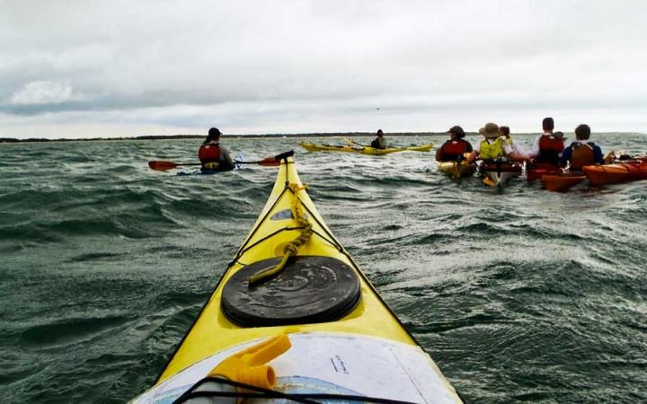 adults only kayaking trip outer banks
