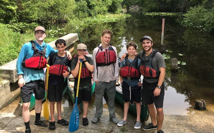 canoeing trip for teens in florida