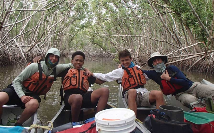 canoeing trip for struggling teens