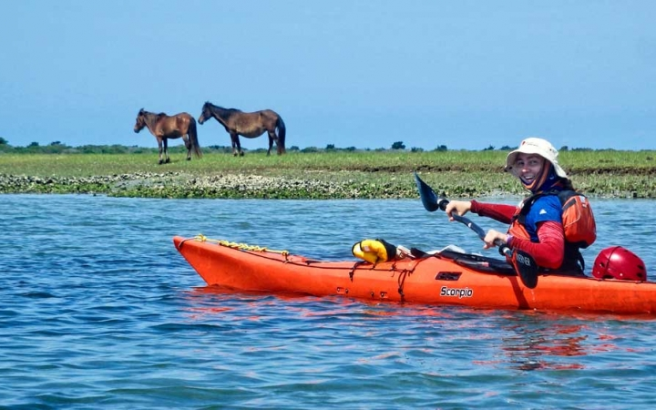 kayaking trip for teens in north carolina